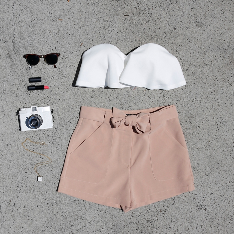 Cooper Shorts and Everlast Crop