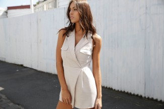 A stand alone playsuit is a must. Carla wears the Unscripted Playsuit